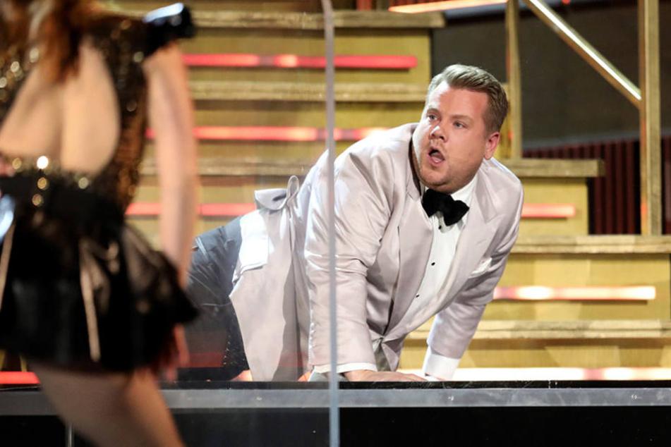 Der Comedian ist für seine musikalischen Einlagen berühmt - hier bei der Grammy-Verleihung.