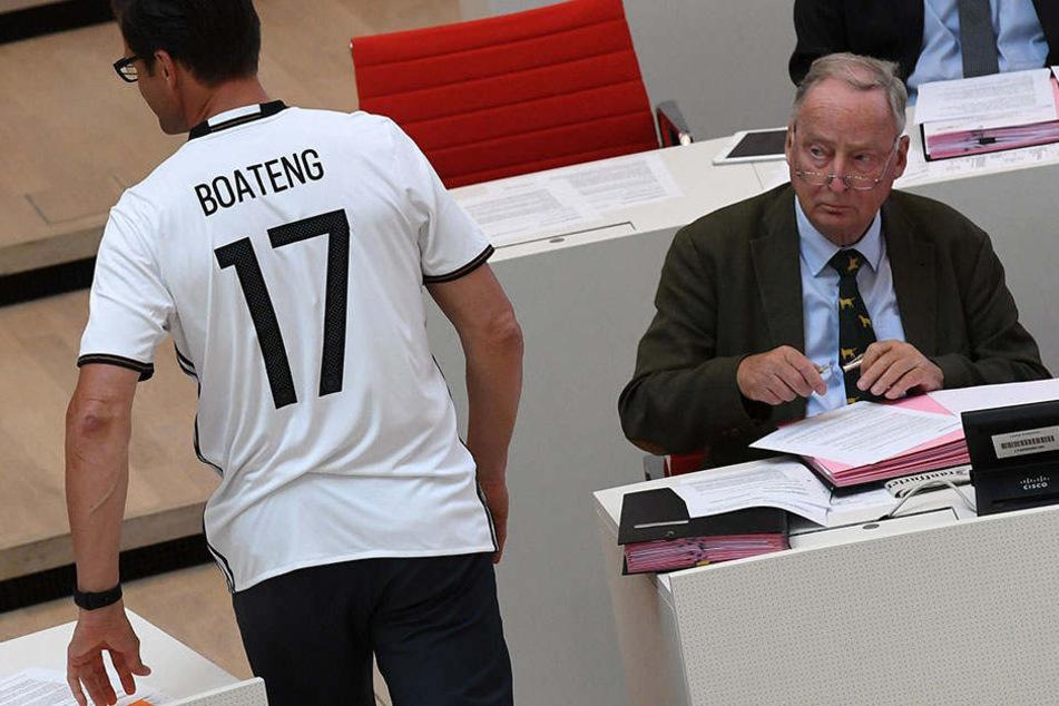 Einige AfD-Bundestagsabgeordnete wollen eine eigene Parlamentsfußballmannschaft gründen.