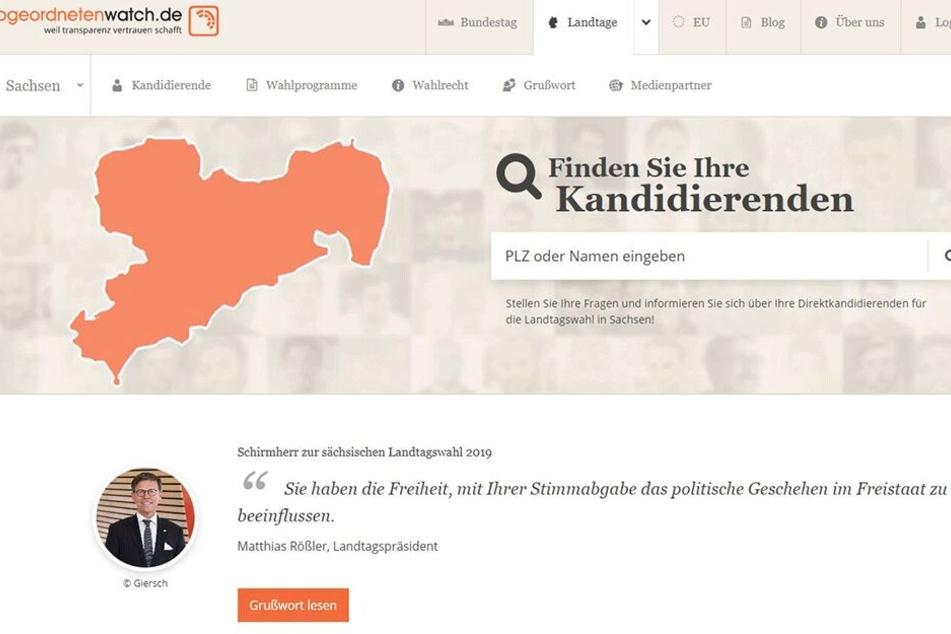 """""""Abgeordnetenwatch"""": Wie ticken Sachsens Direktkandidaten?"""