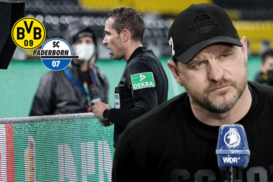 """""""Respekt bedeutet, sich die Scheiße anzugucken!"""" SCP-Trainer geht nach BVB-Spiel auf Schiri los!"""