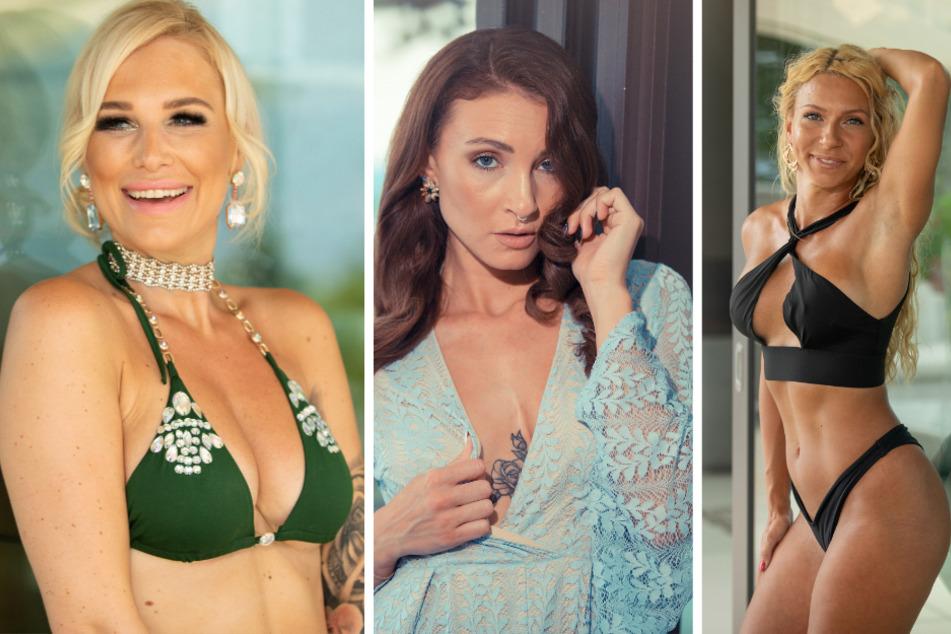 v.l.n.r.: Nadine (34), Natalja (28) und Nez (29).