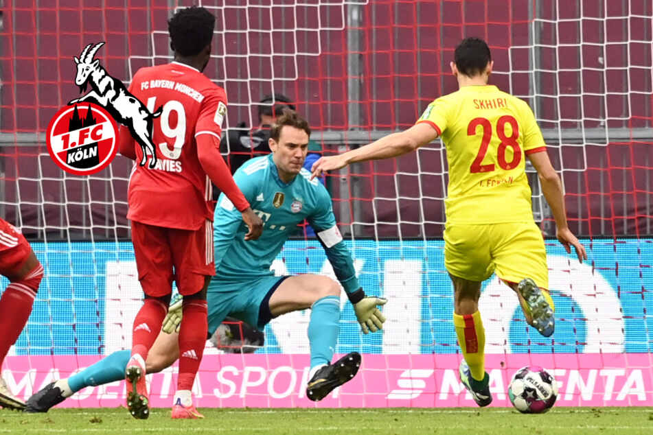 1. FC Köln geht gegen FC Bayern unter, Ellyes Skhiri sieht Lehrstunde