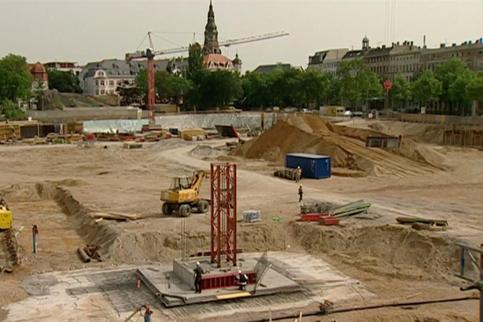 2007 war das Areal neben dem Zoogelände noch eine riesige Baustelle.
