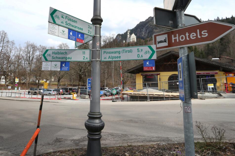 Brand nahe Schloss Hohenschwangau verursacht Millionen-Schaden!