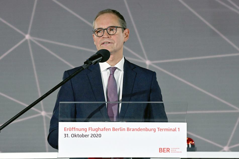 Berlins Regierender Bürgermeister Michael Müller (SPD) wartet zurzeit noch auf das Ergebnis seines Corona-Tests.