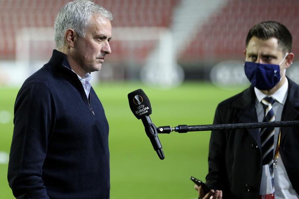 Jose Mourinho (57) sprach nach dem Spiel gegen Antwerpen Klartext.