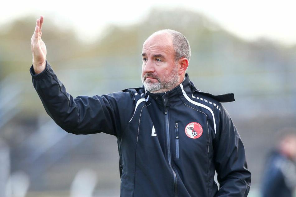 BAK-Coach Ersan Parlatan musste die erste Niederlage 2019 hinnehmen. (Archivbild)