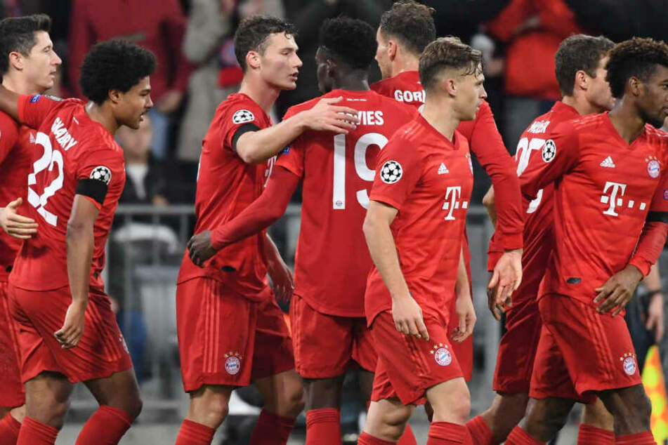 Der FC Bayern München liegt mit 12 Punkten aus vier Spielen auf Platz eins der CL-Gruppe B.