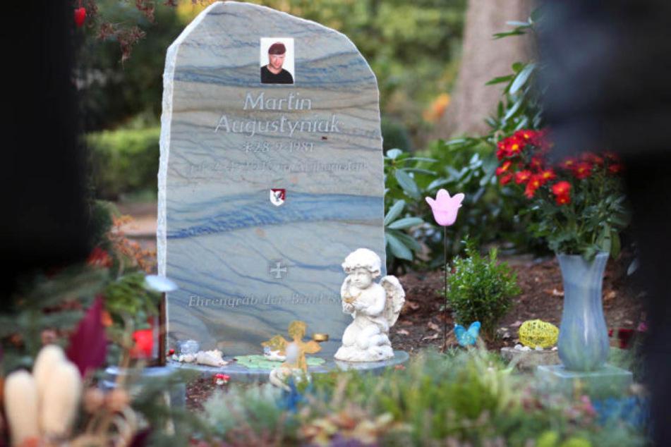 Auf dem Friedhof in Quelle fand Augustyniak seine letzte Ruhe.