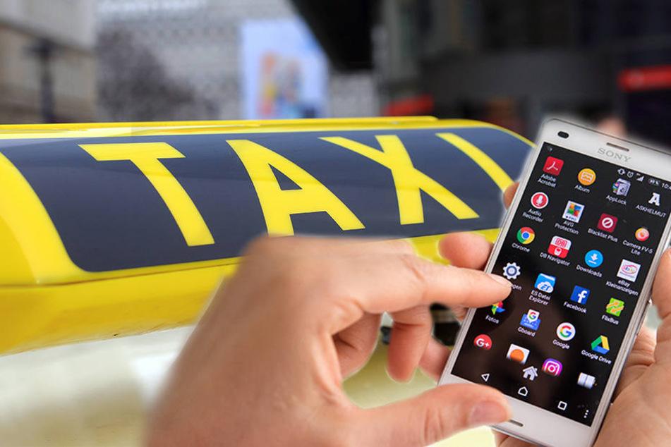 Mit der neuen App kann das Taxi auch mit dem Smartphone bezahlt werden. (Symbolbild)