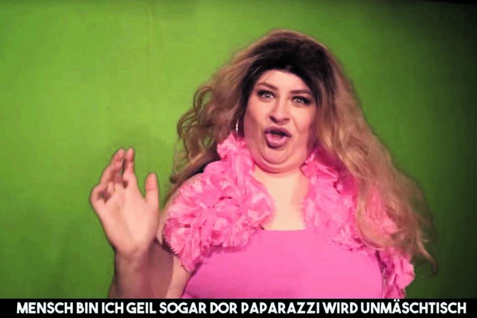 """""""Gib ihm"""": Sachsen-Aline parodiert Youtube-Sternchen"""