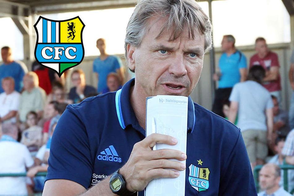 Vor Testspiel gegen Sokolov: CFC-Trainer zieht die Zügel an