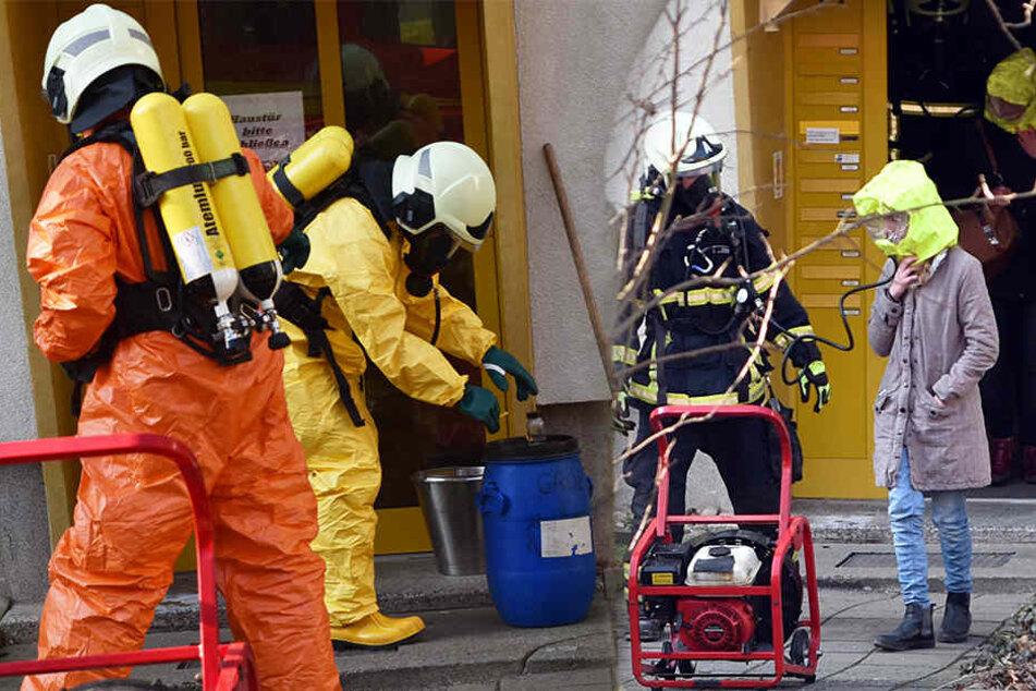 Säure-Anschlag! Irrer attackiert Mehrfamilienhaus mit Chemikalie