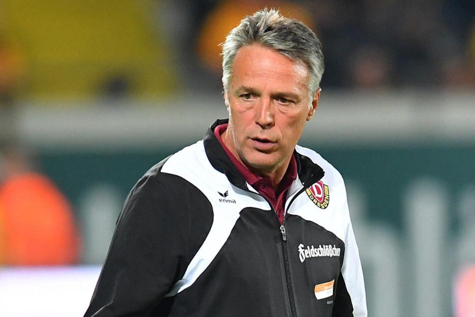 Uwe Neuhaus war in Darmstadt bedient. Der 3:1-Vorsprung reichte nicht zum Dreier.