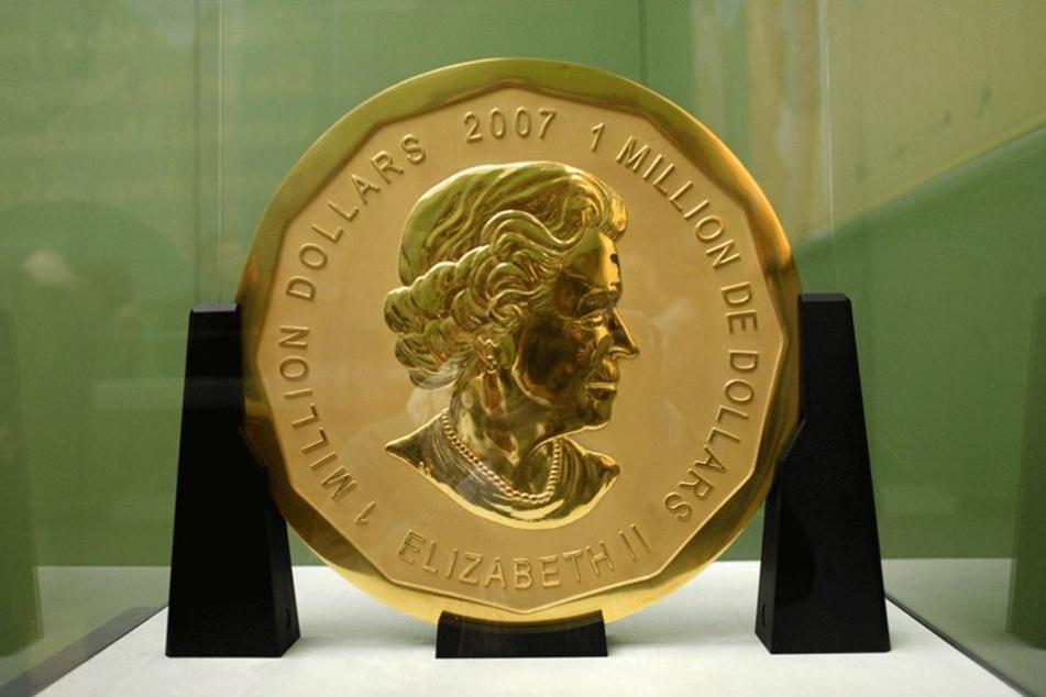 Diese Goldmünze wurde aus dem Bodemuseum gestohlen und ist wahrscheinlich unwiederbringlich verloren.