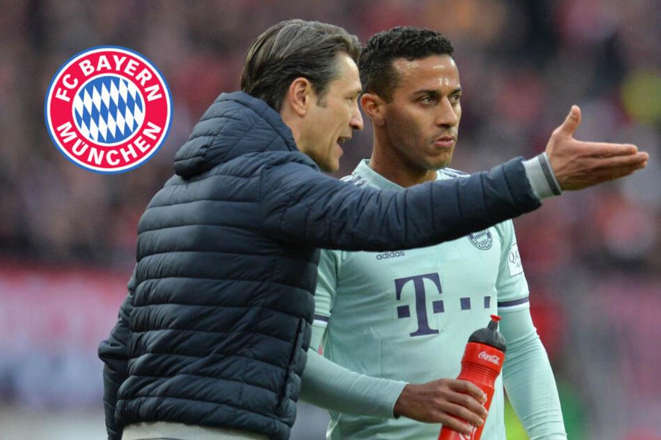 FC Bayern: Deshalb musste Thiago gegen Tottenham auf der Bank schmoren