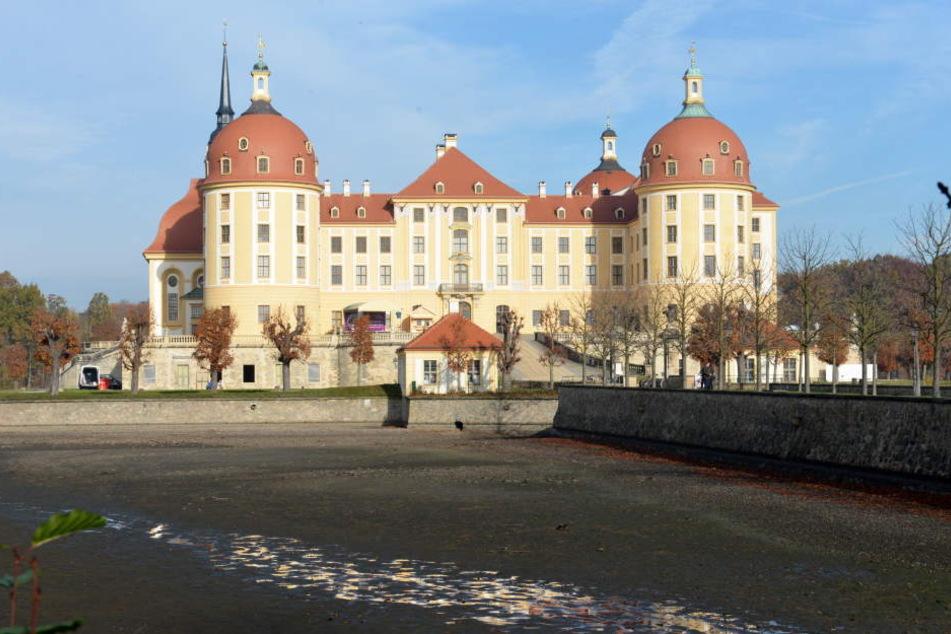 Schloss Moritzburg bei Dresden war einer der Drehorte.