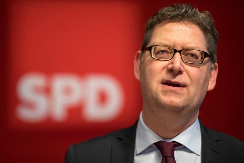 SPD-Chef mit Zahnlücke: Thorsten Schäfer-Gümbel.
