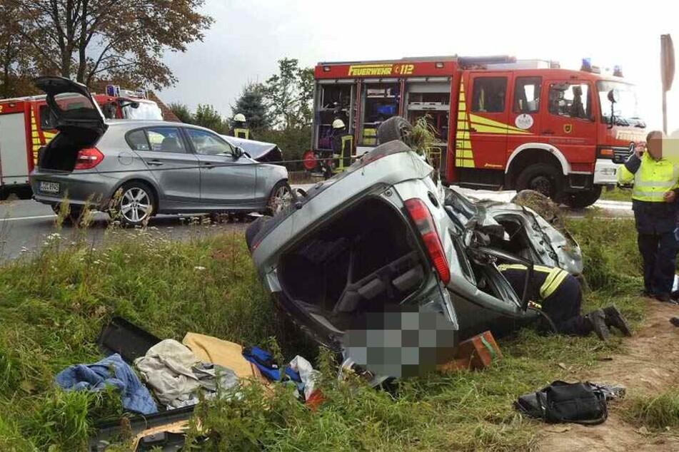 Horror-Crash auf Bundesstrasse: Mehrere Tote!