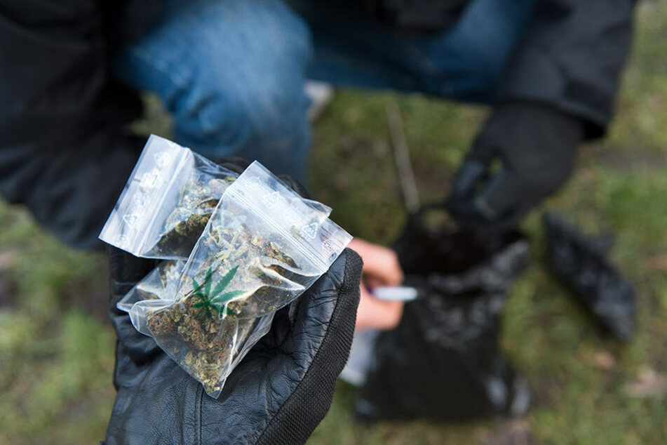 """""""Willst du Gras oder Haschisch kaufen?"""", fragten zwei Marokkaner die Zivilpolizisten. (Symbolbild)"""