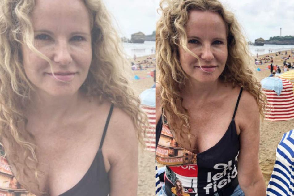 Fans verschossen in ihre Sommersprossen: Katja Burkard ganz natürlich
