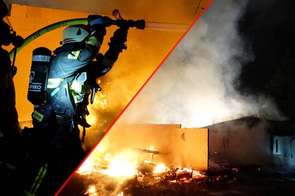 Alarm in Pirna! Bildungszentrum steht in Flammen