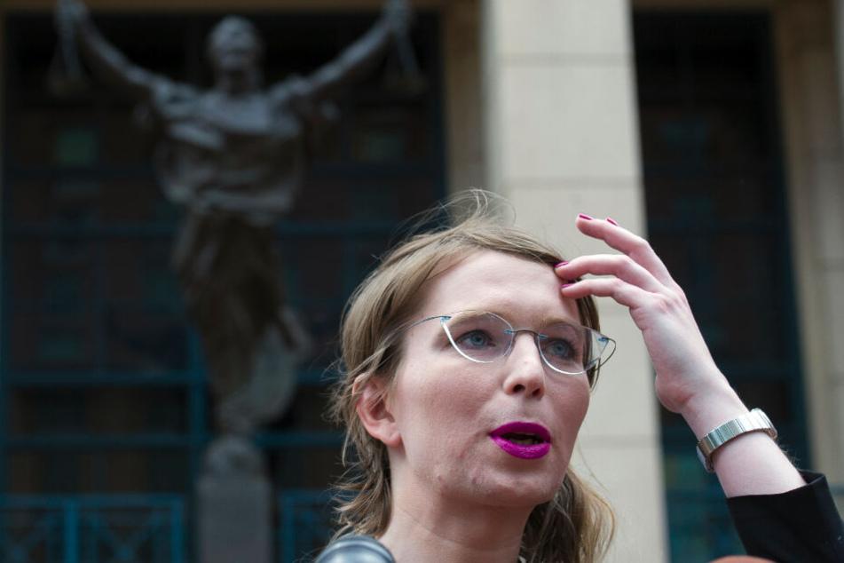 Die frühere Wikileaks-Informantin Chelsea Manning.