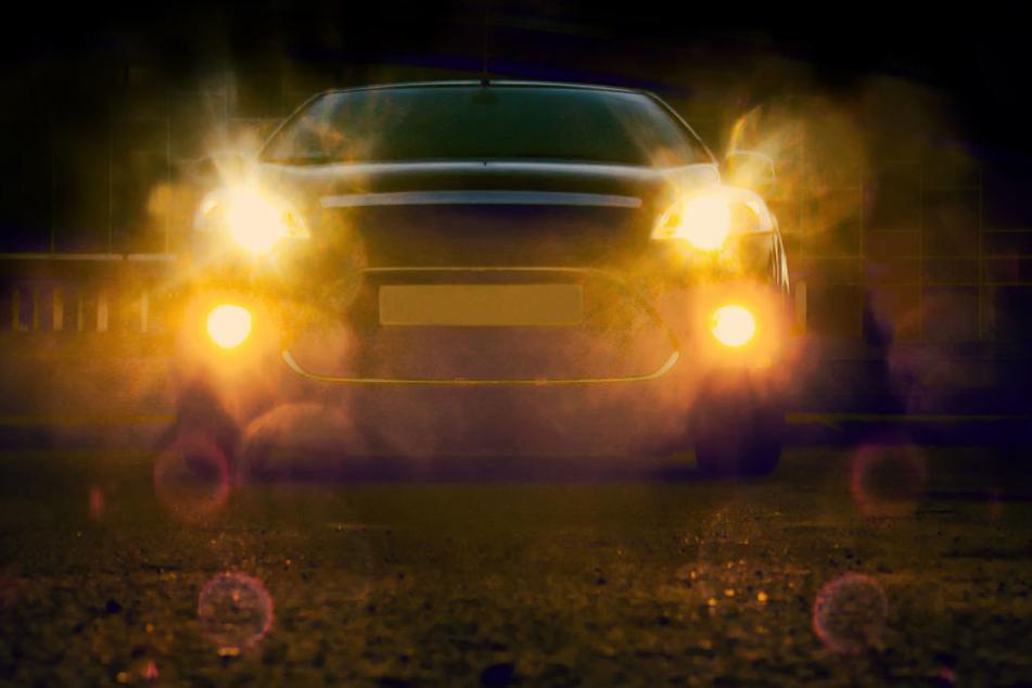 Mit Fernlicht geblendet, dann gerieten die Fahrer aneinander