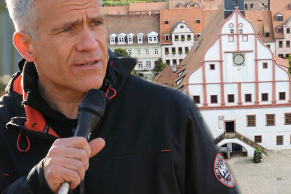 Berger in der Kritik: Leipziger fordern Antworten nach Höcke-Auftritt in Grimma