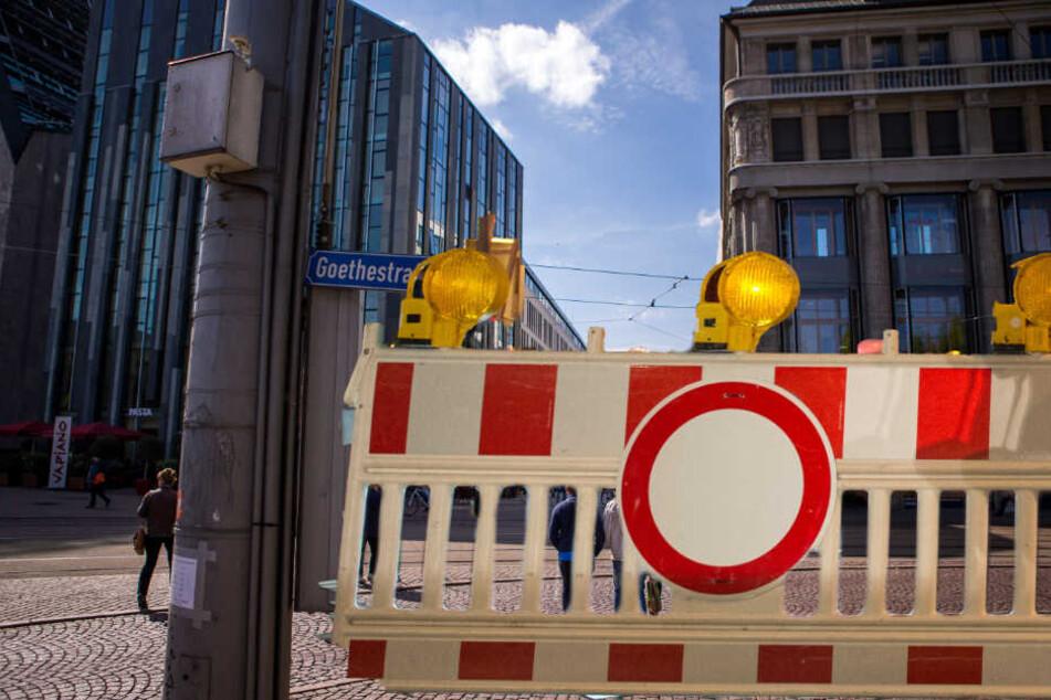 Am Samstag kommt es wegen eines Ostermarsches in der Leipziger Innenstadt zu Verkehrsbehinderungen. (Bildmontage)