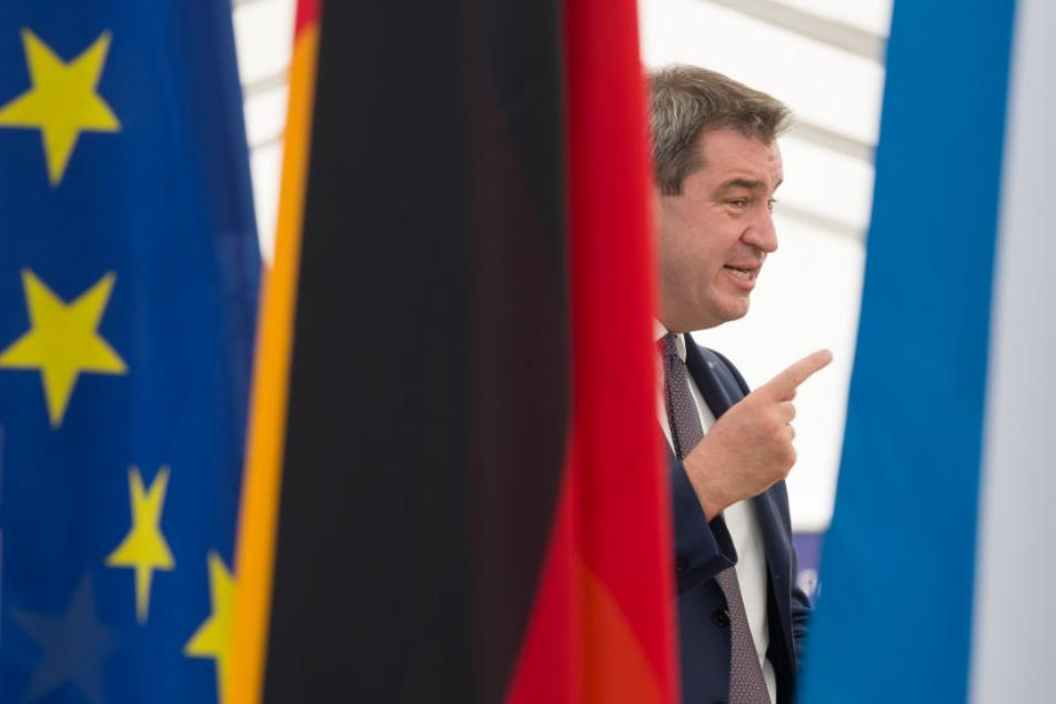 Markus Söder hat klare Vorstellung im Hinblick auf die Asylpolitik Deutschlands.