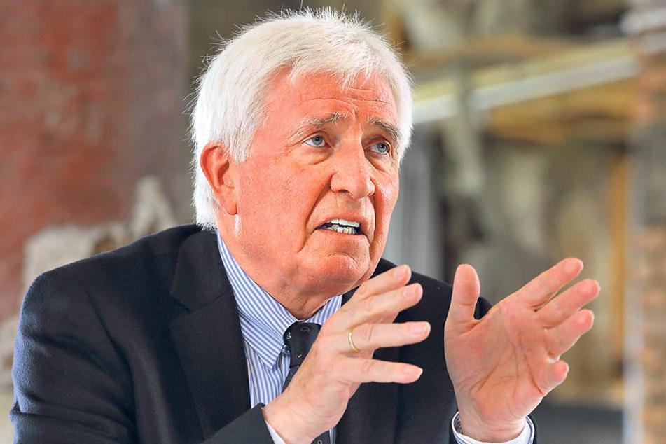 Der vom Schlösserland Sachsen eingesetzte Thomas Giesen (70) geht von nur  einem massiven Einzelfall des Missbrauchs aus.
