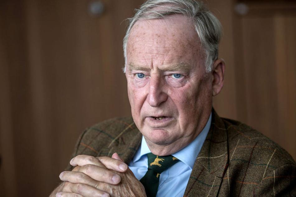 Alexander Gauland begrüßte den Parteiaustritt von Fraktionsvorsitzenden Holger Arppe.