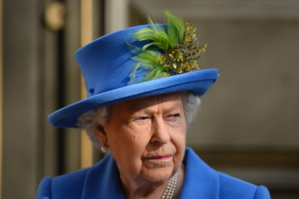 Zwischen Queen Elizabeth und Meghan ist wohl die Eiszeit ausgebrochen. (Archivbild)