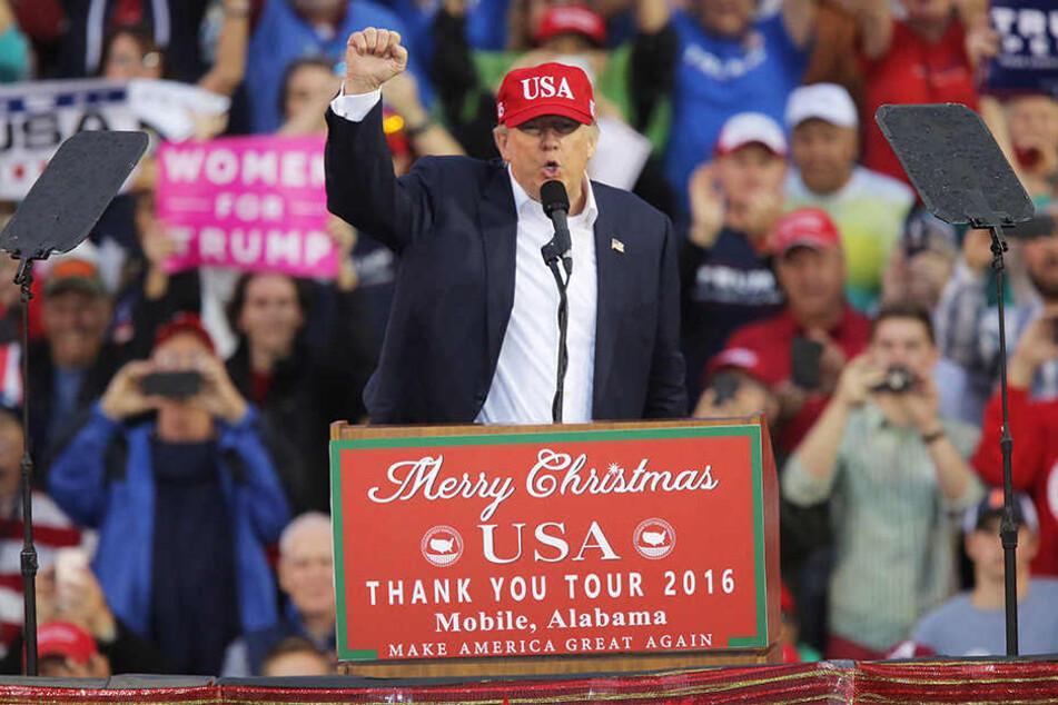 Donald Trump (70) wurde nun auch offiziell zum nächsten US-Präsidenten gewählt.