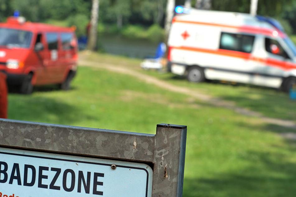 In Muldenberg im Vogtland ist am Mittwoch ein 79-Jähriger beim Baden in einem Teich tödlich verunglückt. (Symbolbild)