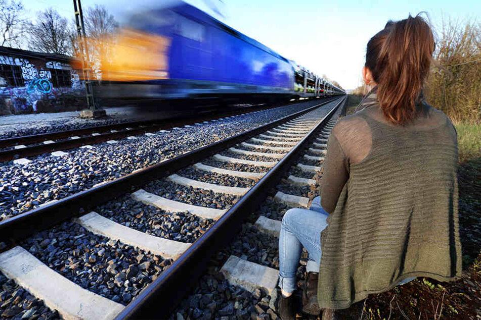 Gefährliches Spiel: Abgelegene Gleise, wie hier bei Isselhorst-Avenwedde, sind beliebt bei Kindern und Jugendlichen.