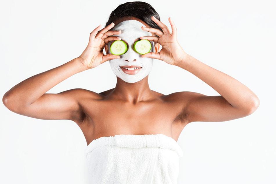 Dann wohl doch lieber 'ne Maske aus Quark und Gurken...