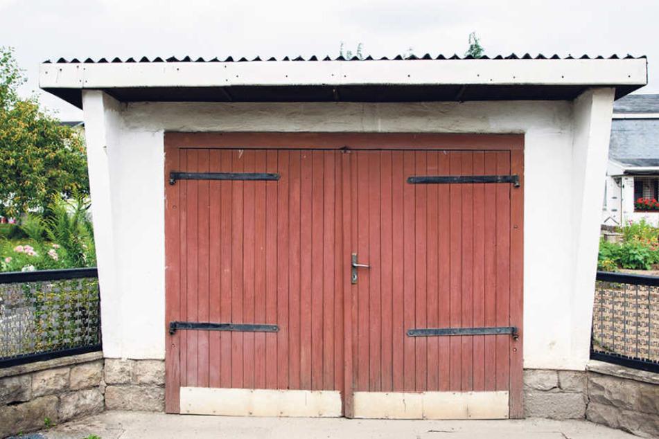 So sieht die Garage heute aus.