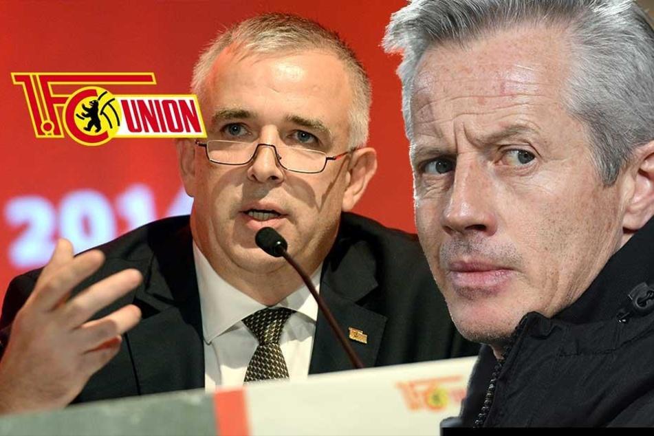 Union-Boss Zingler erklärt, warum Jens Keller gefeuert wurde