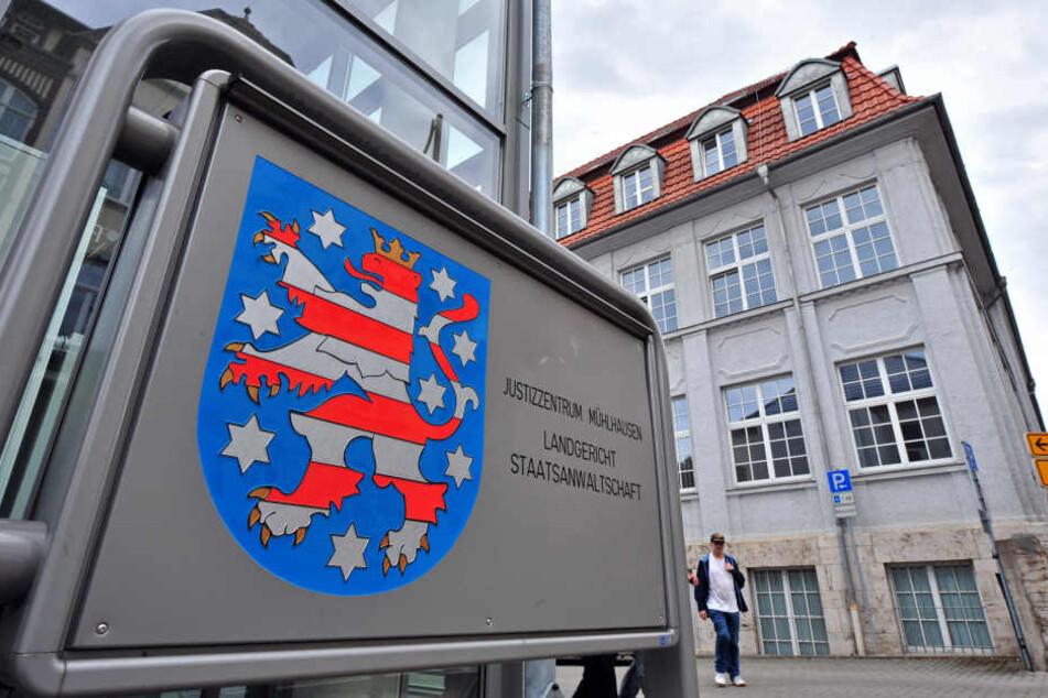 Am Landgericht Mühlhausen wurde der Prozess am Montag fortgesetzt.