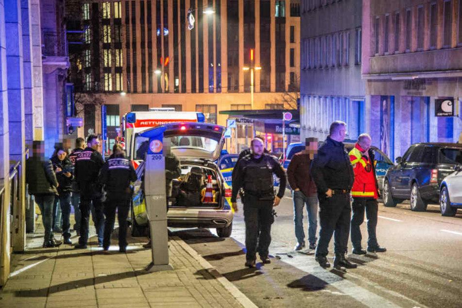Zwei der Verletzten kamen ins Krankenhaus.