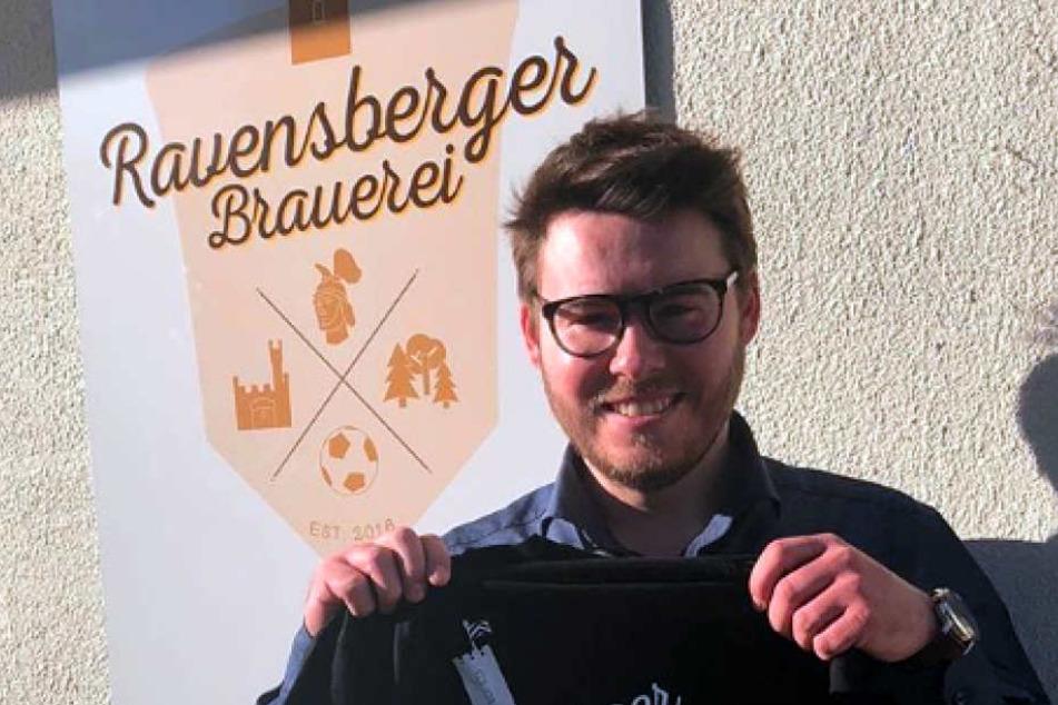 """Um den Namen """"Ravensberger Brauerei"""" will er weiter kämpfen."""