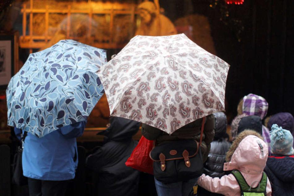 Derzeit beherrscht der Regen das Wetter in Hamburg.