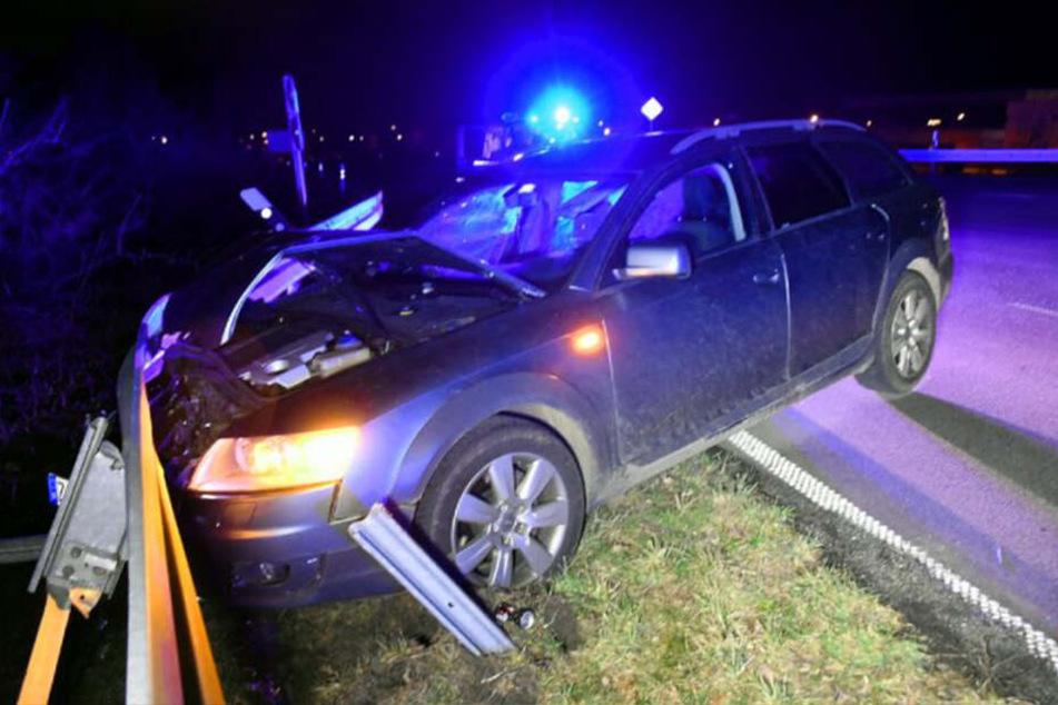 Der Crash ereignete sich auf der Bundesstraße 99 nahe des deutsch-polnischen Grenzübergangs.