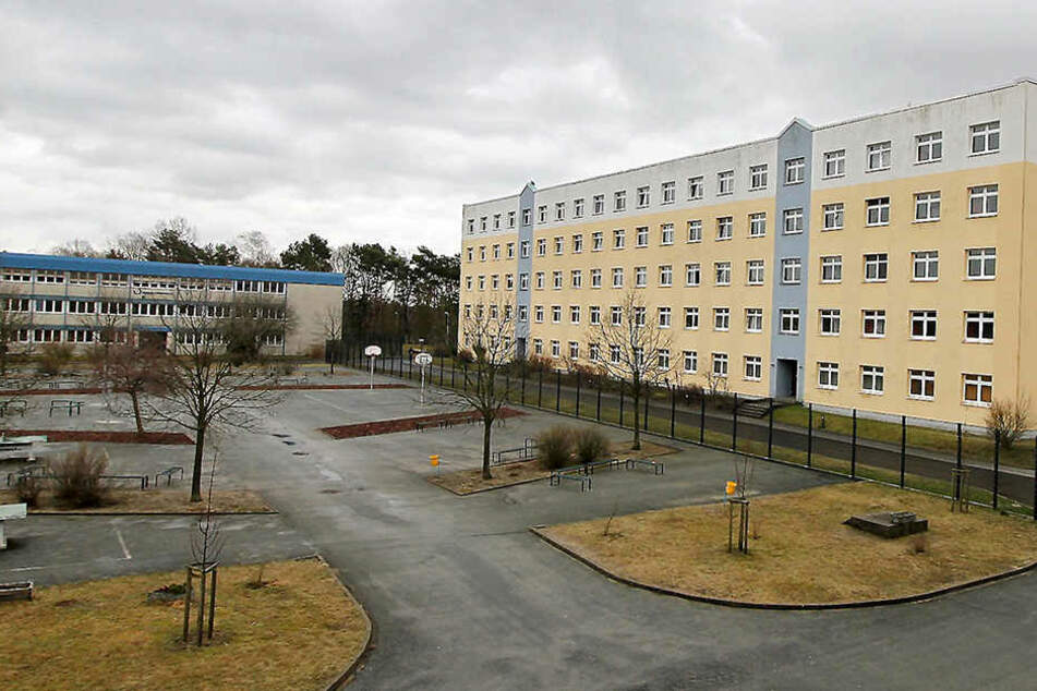 Blick auf die sächsische Polizeihochschule in Rothenburg: Zieht der Schummel-Skandal weitere Kreise?