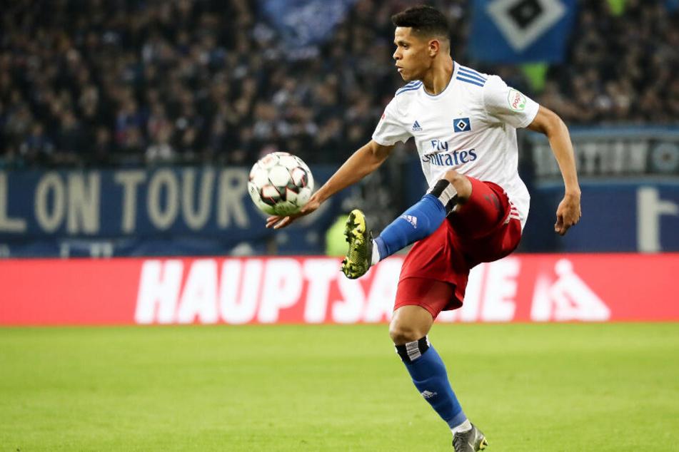 Das HSV-Trikot wird Douglas Santos jetzt nicht mehr offiziell tragen.