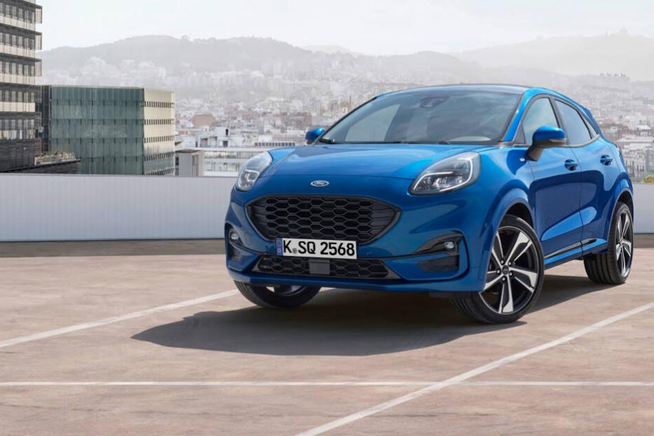 """Der Ford """"Puma"""" kommt 2020 auf den Automarkt."""