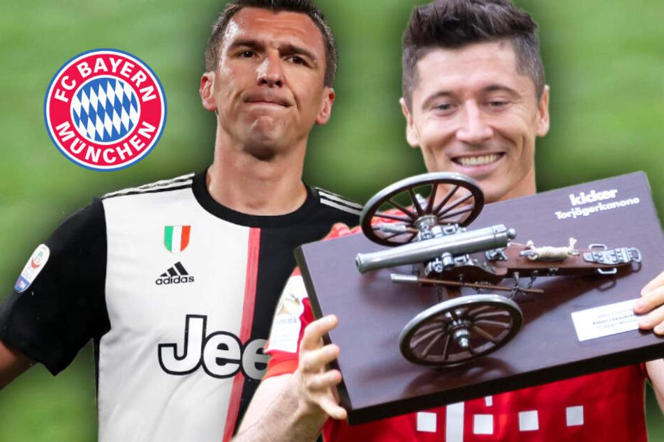 Das ist der Bayern-Plan mit Robert Lewandowski, klare Ansage zu Mario Mandzukic