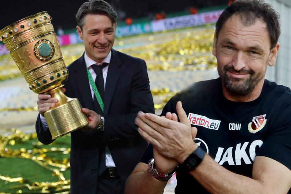 Pele Wollitz bezeichnet ein Weiterkommen gegen Titelverteidiger Bayern als absolute Sensation.